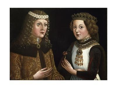 Wedding Painting of Ladislaus and Magdalena of Valois