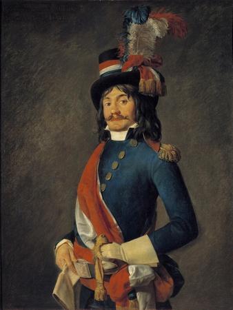 Portrait of Jean Baptiste Milhaud