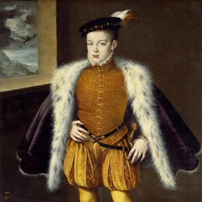 Portrait of Prince Don Carlos by Alonso Sanchez Coello