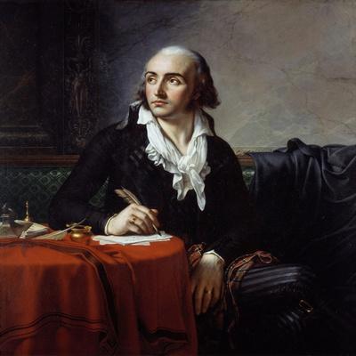 Portrait of Giuseppe Fravega by Anne-Louis Girodet De Roussy-Trioson