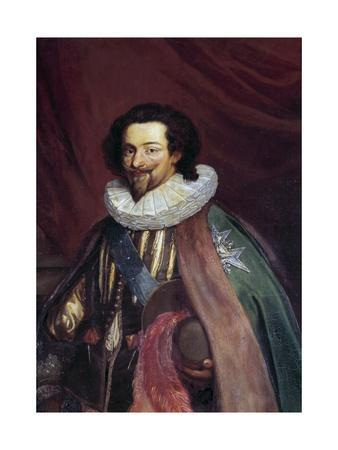 Portrait of Charles D'albert, Duke of Luynes by Joseph-Nicolas Robert-Fleury