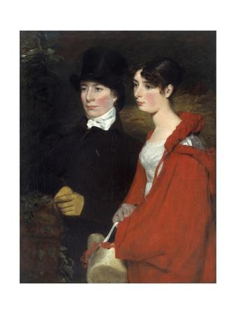 Portrait of Ann Et Mary Constable by John Constable