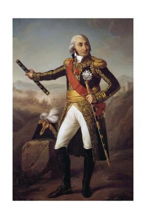 Portrait of Jean Baptiste, Comte Jourdan by Eugene-Louis Charpentier