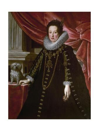 Portrait of Anna De Medici by Justus Sustermans