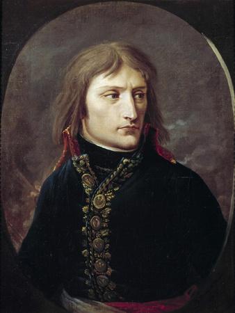 Portrait of Bonaparte by Louis Albert Bacler D'albe