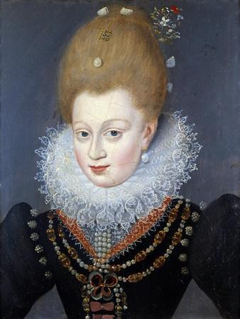 Portrait of Gabrielle D' Estrees