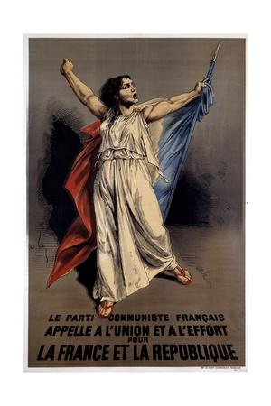 French Communist Party Calls to the Union and Effort for France