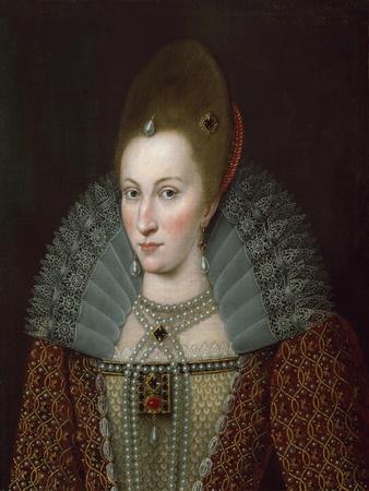 Portrait of Queen Anne of Denmark