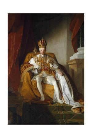 Portrait of Emperor Francis II of Austria by Friedrich Amerling
