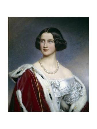 Portrait of the Princess Marie of Prussia by Joseph Karl Stieler