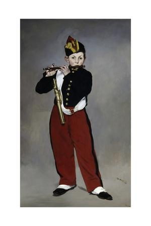 The Fife Player by Edouard Manet