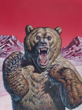 Cave Bear (Ursus Spelaeus), Pleistocene Epoch