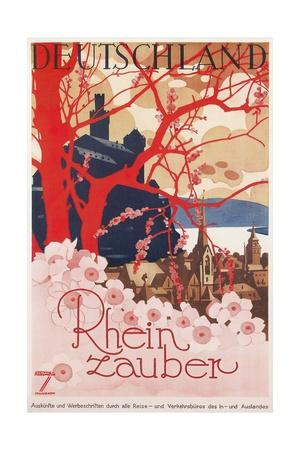 Travel Poster for Germany