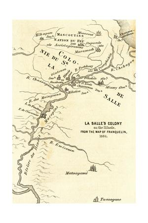 Map of the Discovery of the West