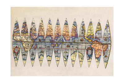 Early Map of the World