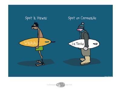Oc'h oc'h. - Spots de surf