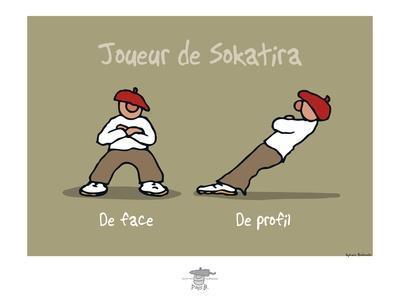 Pays B. - Joueur de Sokatira