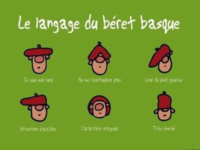 Pays B. - Langage du béret basque