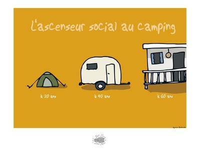 Sud-Mer-Sud-Terre - Ascenseur social au camping