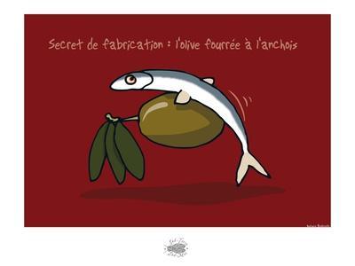 Sud-Mer-Sud-Terre - Olives et anchois