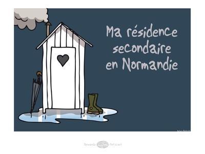 Heula. Résidence secondaire normande