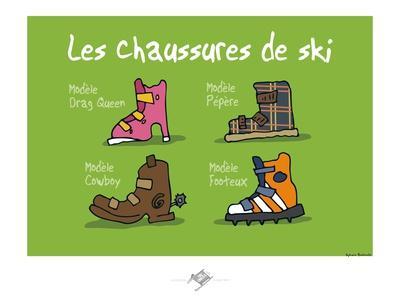 Touchouss - Chaussures de ski