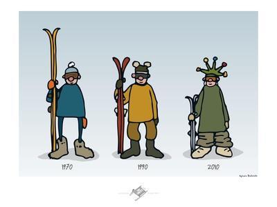 Touchouss - La mode des sports d'hiver