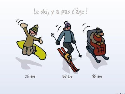 Touchouss - Le ski, il n'y a pas d'âge
