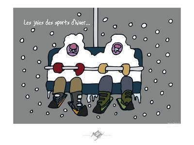Touchouss - Les joies des sports d'hiver