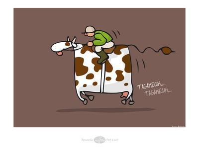 Heula.La vache qui galope