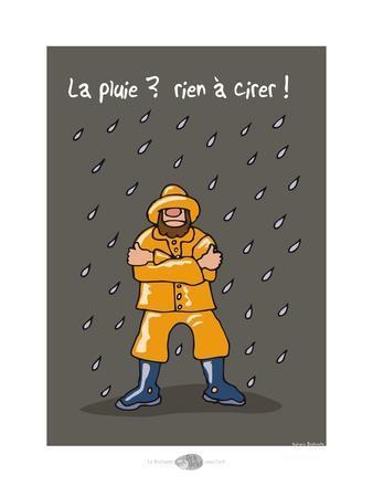Oc'h oc'h. - La pluie, rien à cirer !