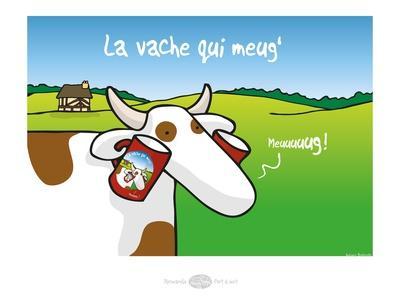 Heula. La vache qui meug