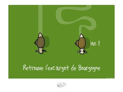 Tipe taupe - Retrouve l'escargot de Bourgogne