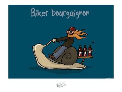 Tipe taupe - Biker bourguignon
