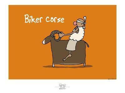 Broutch - Biker corse