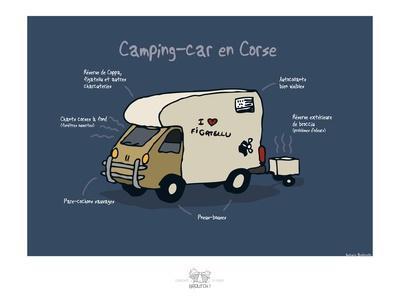 Broutch - Camping-car corse