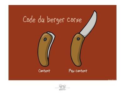 Broutch - Code du berger corse