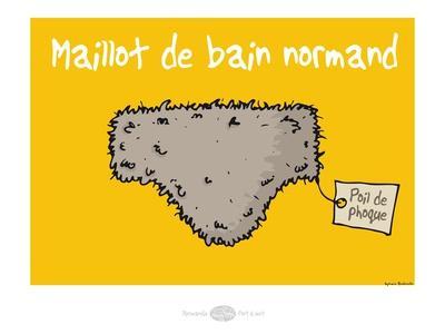 Heula. Maillot de bain normand