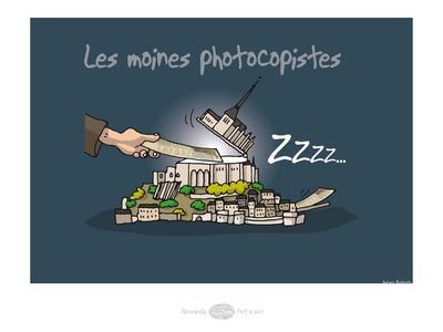 Heula. Mon Saint-Michel photocopieur