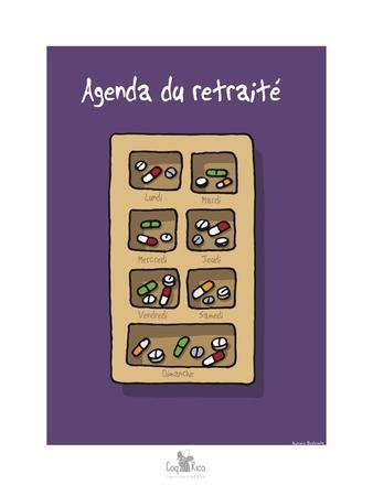 Coq-Ô-Rico - Agenda du retraité