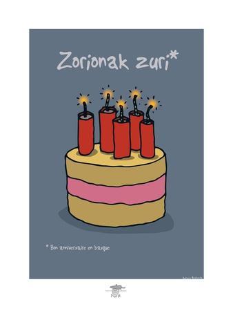 Pays B. - Bon anniversaire basque