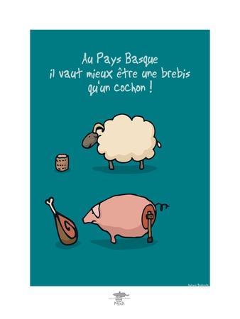 Pays B. - Brebis ou cochon basque ?
