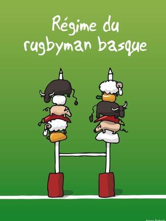 Pays B. - Régime du rugbyman basque