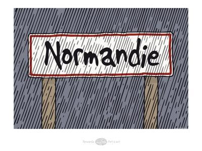 Heula. Panneau Normandie