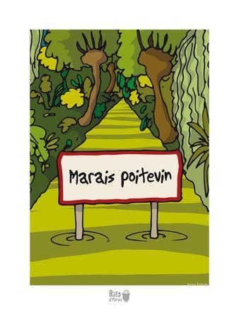 Rats d'marais - Panneau Maris Poitevin
