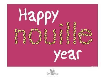 Coq-Ô-Rico - Happy nouille year