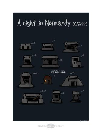 Heula. A night in Normandy