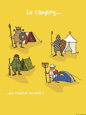 Heula. Camping, une tradition normande