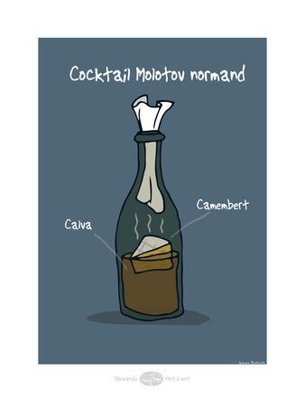 Heula. Cocktail Molotov normand