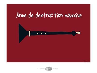 Oc'h oc'h. - Arme de destruction massive
